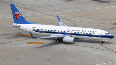 A picture of B206A - Boeing 73781B - China Southern Airlines - © SEN BAI