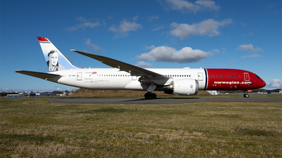 A picture of SERXM - Boeing 7879 Dreamliner - Norwegian - © Stian Haabeth