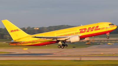 N656GT - Boeing 767-281(BDSF) - DHL (Amerijet International)