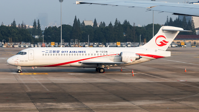 A picture of B123A - Comac ARJ21700 -  - © Lazy Clutch