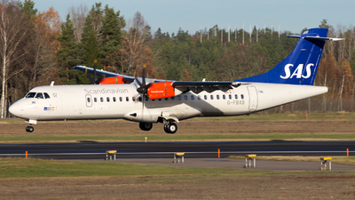 G-FBXB - ATR 72-212A(600) - Scandinavian Airlines (Flybe)