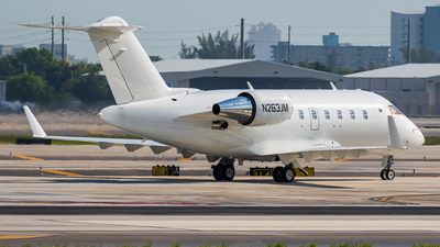 N263JM - Bombardier CL-600-2B16 Challenger 650 - Private