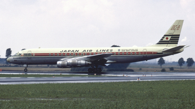 JA8017 - Douglas DC-8-55 - Japan Airlines (JAL)