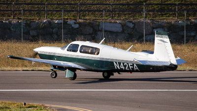 N42FA - Mooney M20M Bravo - Private