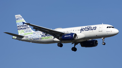 A picture of N598JB - Airbus A320232 - JetBlue Airways - © Mark Szemberski