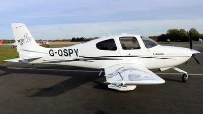 G-OSPY - Cirrus SR20-GTS - Private