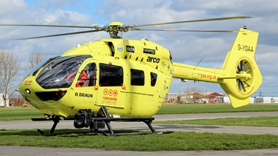 G-YOAA - Eurocopter EC 145T2 - Yorkshire Air Ambulance