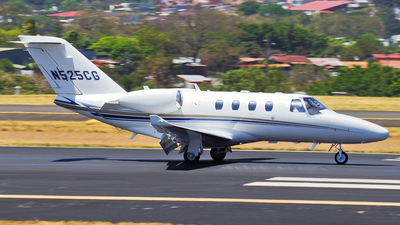 N525CG - Cessna 525 Citation CJ1 - Private
