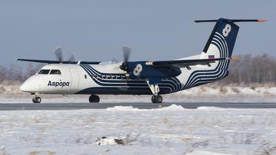 A picture of RA67255 - De Havilland Canada Dash 8300 - Aurora - © Konstantin Tupichkin