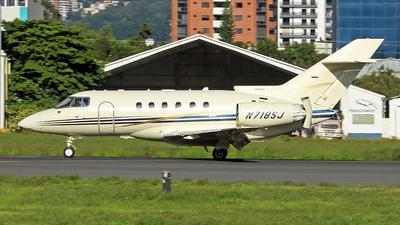 N718SJ - Raytheon Hawker 800XP - Private