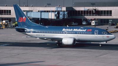 SE-DNC - Boeing 737-53A - bmi British Midland International (Astraeus Airlines)