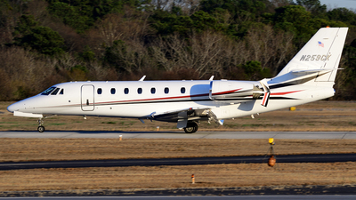 N259CK - Cessna 680 Citation Sovereign - Private