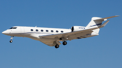 N76PW - Gulfstream G600 - Private