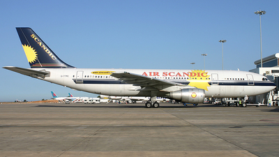G-TTMC - Airbus A300B4-203 - Air Scandic