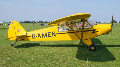 G-AMEN - Piper L-18C Super Cub - Private