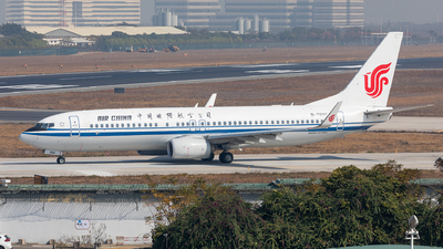 B-7896 - Boeing 737-89L - Air China