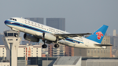 A picture of B1690 - Airbus A320232 - China Southern Airlines - © Ken Chen