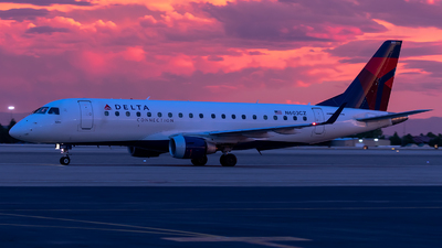 A picture of N603CZ - Embraer E175LR - Delta Air Lines - © CJMoeser