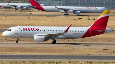 EC-LUL - Airbus A320-216 - Iberia
