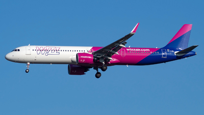 HA-LVO - Airbus A321-271NX - Wizz Air