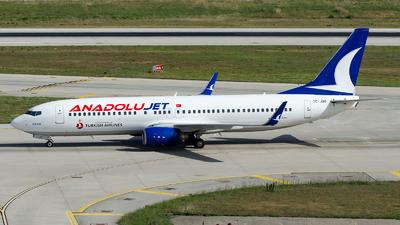 A picture of TCJGU - Boeing 7378F2 - Turkish Airlines - © Alp AKBOSTANCI