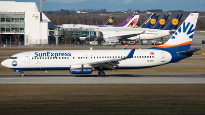 TC-SNF - Boeing 737-8HC - SunExpress