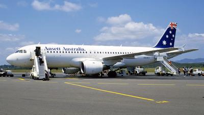 VH-HYJ - Airbus A320-211 - Ansett Australia
