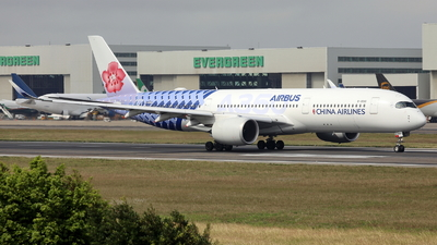 B-18918 - Airbus A350-941 - China Airlines