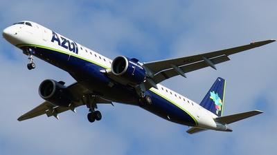 A picture of PSAEC - Embraer E195E2 - Azul Linhas Aereas - © Rogério A. Avelino
