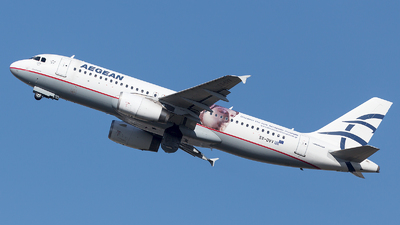 SX-DVV - Airbus A320-232 - Aegean Airlines
