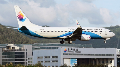 B-7630 - Boeing 737-83Z - Donghai Airlines