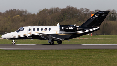 G-LFBD - Cessna 525A CitationJet 2 Plus - Centreline Air Charter