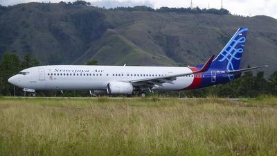 PK-CMO - Boeing 737-9LFER - Sriwijaya Air