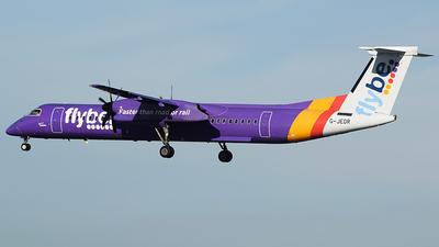 A picture of GJEDR - De Havilland Canada Dash 8400 - Flybe - © John Fitzpatrick