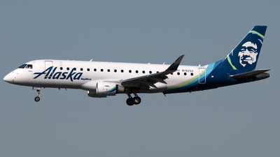 N192SY - Embraer 170-200LR - Alaska Airlines (Skywest Airlines)