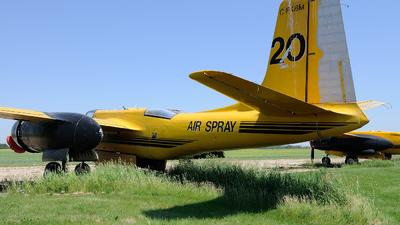 C-FKBM - Douglas A-26B Invader - Air Spray