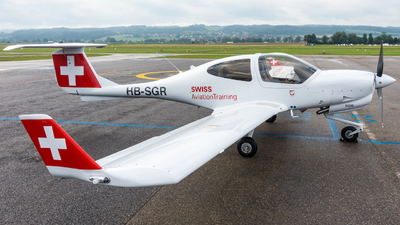 HB-SGR - Diamond DA-40NG Diamond Star - Swiss Aviation Training