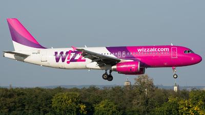 HA-LPR - Airbus A320-232 - Wizz Air