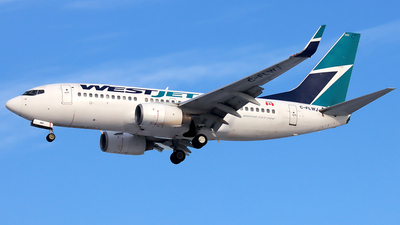 A picture of CFLWJ - Boeing 7377CT - WestJet - © YoungKyun Shin