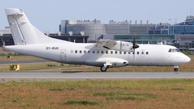 OY-RUO - ATR 42-500 - Danish Air Transport (DAT)