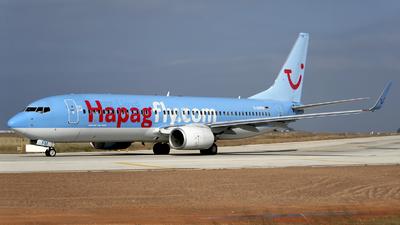 D-AHFM - Boeing 737-8K5 - Hapagfly
