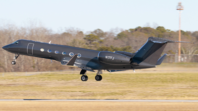 N17FJ - Gulfstream G-V - Private