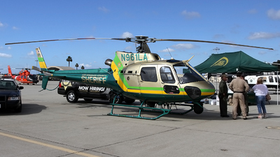 N961LA - Eurocopter AS 350B2 Ecureuil - United States - Los Angeles County Sheriff
