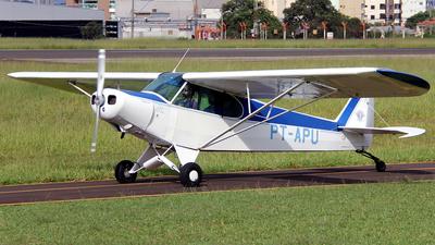 PT-APU - Piper PA-18 Super Cub - Aeroclube de Bauru