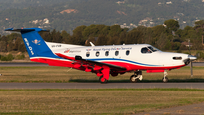 VH-FVB - Pilatus PC-12/47E - Royal Flying Doctor Service of Australia (Central Section)
