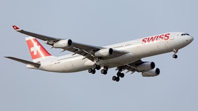 A picture of HBJMB - Airbus A340313 - Swiss - © Mehdi Nazarinia - MehdiPhotos.com