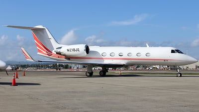 A picture of N218JE - Gulfstream IV - [1436] - © Raul Sepulveda Merced
