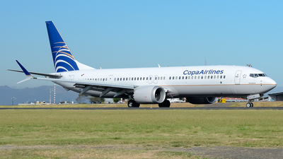 HP-9905CMP - Boeing 737-9 MAX - Copa Airlines