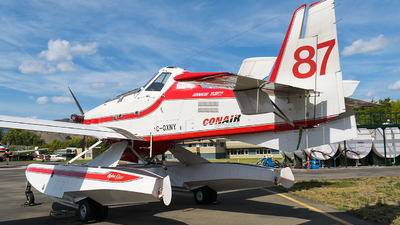 A picture of CGXNY - Air Tractor AT802AF - Conair - © Santiago Arias