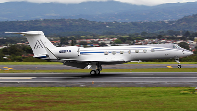 N898AW - Gulfstream G550 - Private